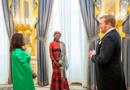 Ambassador (Mrs). LIGUEMOH Madeleine Presents Her Credentials to King of the Netherlands